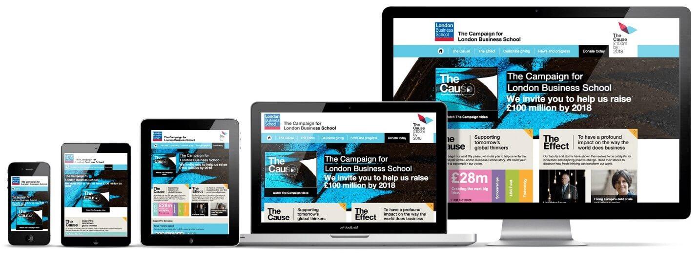 تصميم إنشاء موقع إلكتروني Responsive design