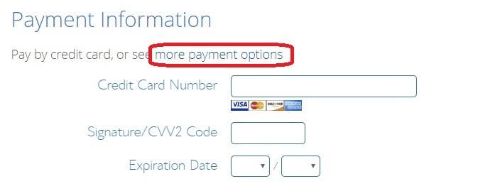 طرق الدفع لاستضافة بلوهوست