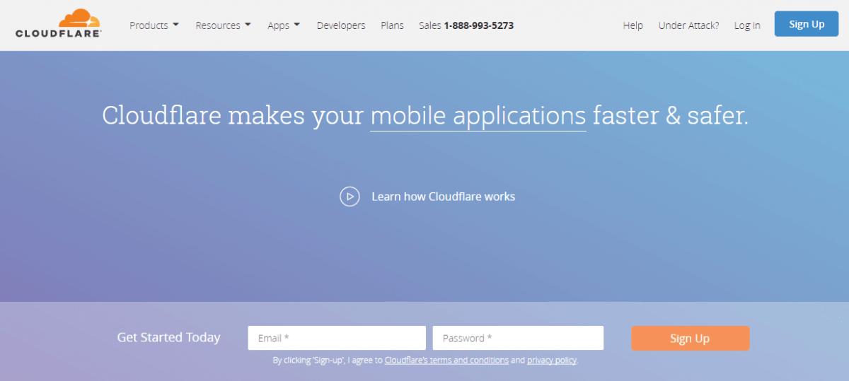 إنشاء-حساب-CloudFlare