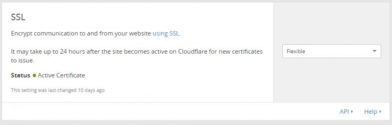 الحصول على شهادة SSL مجانية
