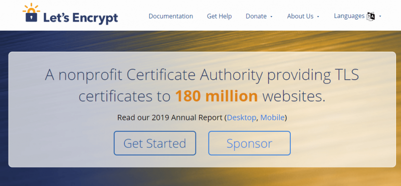 شهادة ssl مجانية Let's Encrypt