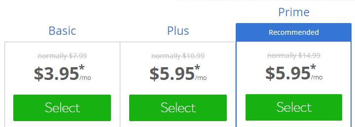 أسعار استضافة شركة بلوهوست
