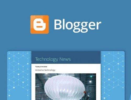 كيفية إنشاء مدونة إلكترونية مجانية باستخدام بلوجر Blogger – بالصور