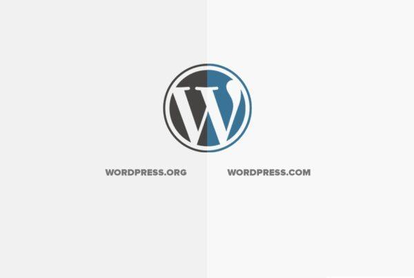 wordpress.org vs wordpress